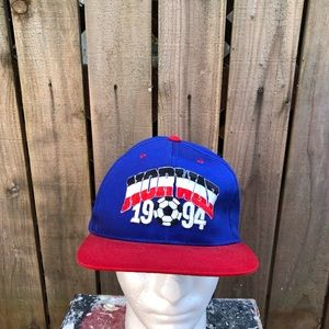 Vintage World Cup 1994 Norway Soccer Snapback